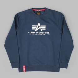ALPHA INDUSTRIES BASIC SWEAT NAVY