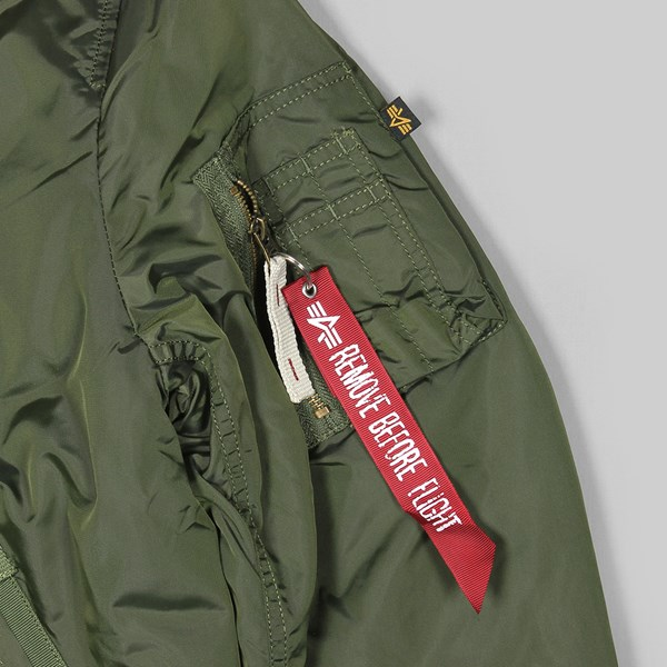 ALPHA INDUSTRIES INJECTOR III JACKET DARK GREEN
