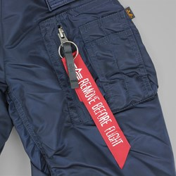 ALPHA INDUSTRIES MA-1 VF NASA JACKET ALL REP BLUE