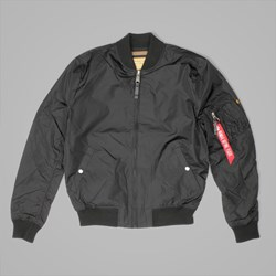 ALPHA INDUSTRIES MA1 TT JACKET BLACK