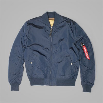 ALPHA INDUSTRIES MA1 TT JACKET REP BLUE