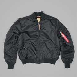 ALPHA INDUSTRIES MA1 VF59 JACKET BLACK