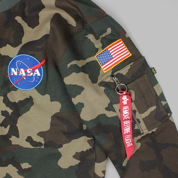 ALPHA INDUSTRIES SPACE SHUTTLE SWEAT CAMO