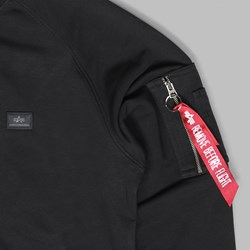 ALPHA INDUSTRIES X-FIT SWEAT BLACK