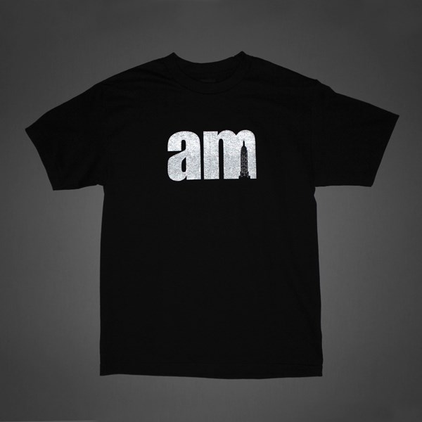 AM AFTER MIDNIGHT 3M LOGO TEE BLACK