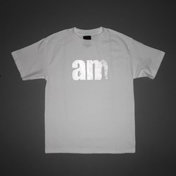 AM AFTER MIDNIGHT 3M LOGO TEE WHITE