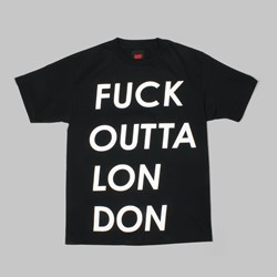 AM AFTER MIDNIGHT LONDON TEE BLACK