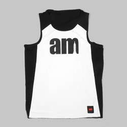 AM X CHAMPION REVERSIBLE JERSEY BLACK WHITE