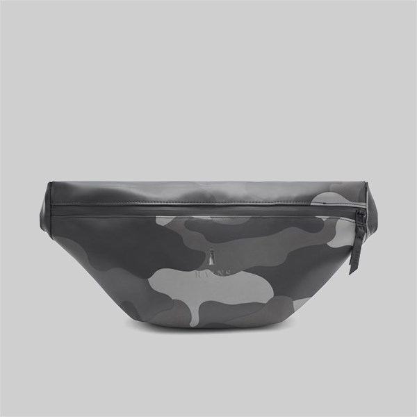 RAINS AOP CAMO BUM BAG NIGHT CAMO