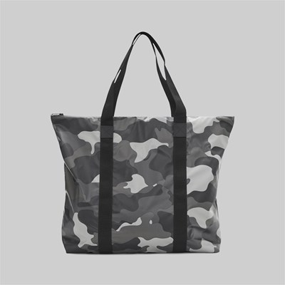 RAINS AOP CAMO TOTE BAG NIGHT CAMO