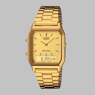 CASIO WATCH AQ-230GA-9DMQYES GOLD