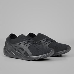 ASICS GEL KAYANO TRAINER KNIT BLACK BLACK