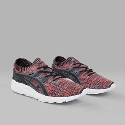 ASICS GEL KAYANO TRAINER KNIT CARBON BLACK