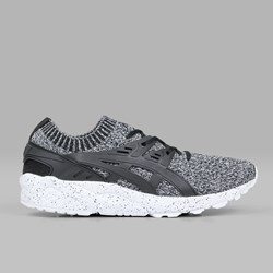 ASICS GEL KAYANO TRAINER KNIT 'OREO' WHITE BLACK