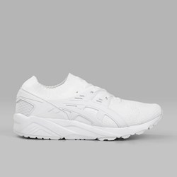 ASICS GEL KAYANO TRAINER KNIT WHITE WHITE