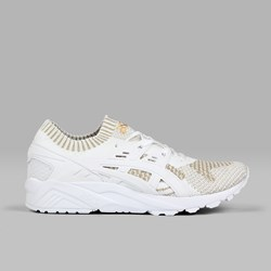 ASICS GEL KAYANO TRAINER KNIT WHITE WHITE GOLD