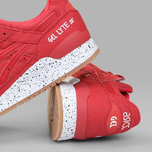 ASICS GEL LYTE III 'CANVAS PACK' CLASSIC RED