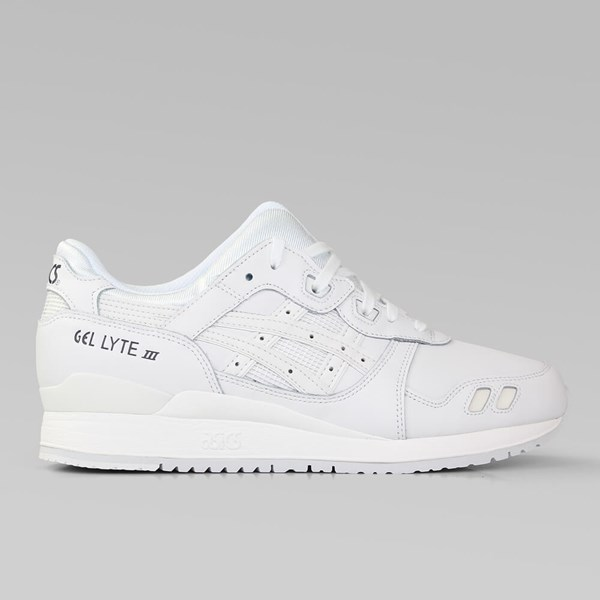 ASICS GEL LYTE III 'MONOCHROME PACK' WHITE