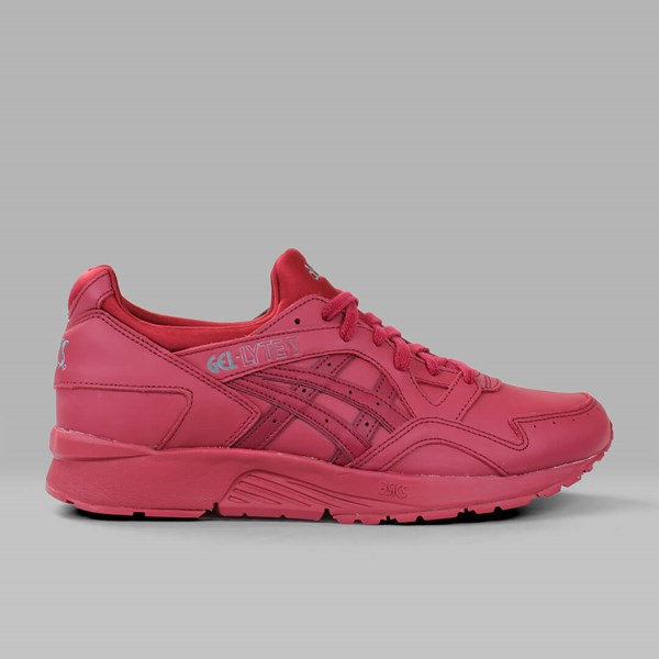 ASICS GEL LYTE V 'LEATHER PACK' BURGUNDY
