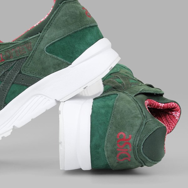ASICS GEL LYTE V 'XMAS SWEATER' PACK DARK GREEN DUFFLE BAG