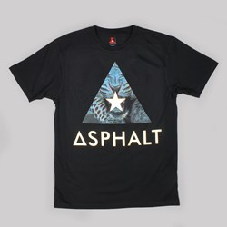 ASPHALT YACHT CLUB DELTA SPEED TEE BLACK