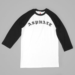ASPHALT YACHT CLUB DESTROYER RAGLAN WHITE