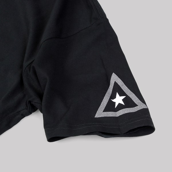 ASPHALT YACHT CLUB SPLIT TEE BLACK