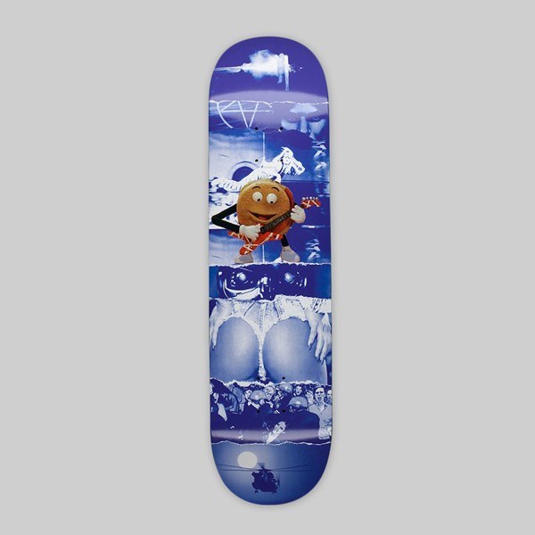 FUCKING AWESOME AVE 'BURGER' DECK BLUE 8.5""