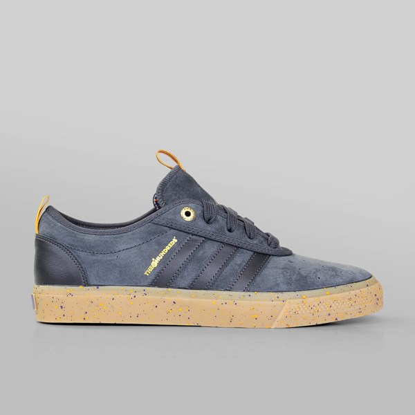 check out 67dbf 76aec Adidas X The Hundreds X NBA Adi Ease ADV Solid Grey