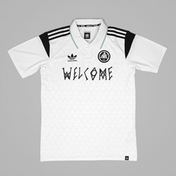 Adidas X Welcome Skateboards Soccer Jersey White