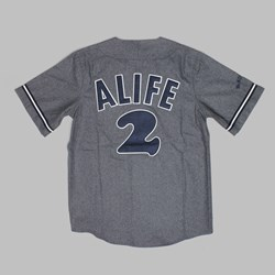 Alife Heroes & Villains Mr. November Basebal  Jersey Grey