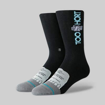 STANCE SOCKS X TOO SHORT BLACK
