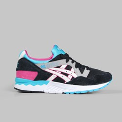 Asics Gel Lyte V '90'S Pack' Black White