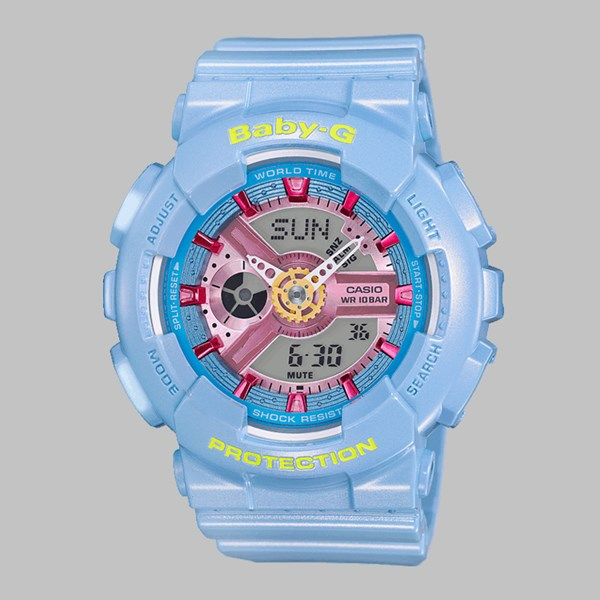 G SHOCK WATCH BA-11CA-2AER BABY BLUE PINK