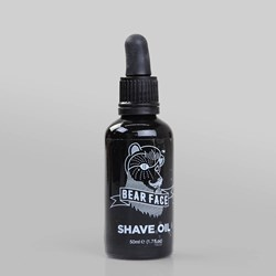 BEAR FACE SWEET BAY RUM SHAVE OIL 50ML