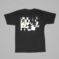 BECKY FACTORY AMY'S BEDROOM TEE BLACK