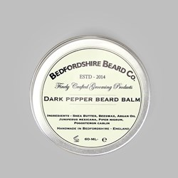 BEDFORDSHIRE BEARD CO. DARK PEPPER BEARD BALM