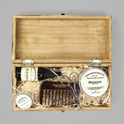 BEDFORDSHIRE BEARD CO. DELUXE GIFT SET MANGO