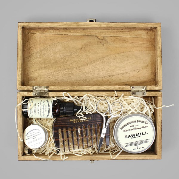 BEDFORDSHIRE BEARD CO. DELUXE GIFT SET SAWMILL
