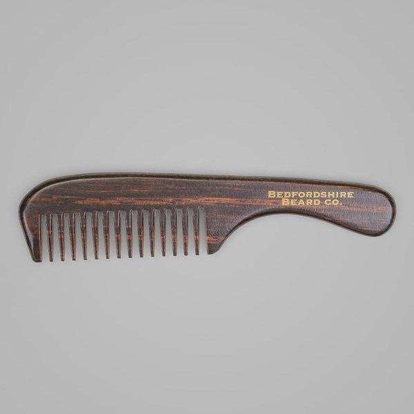 BEDFORDSHIRE BEARD CO. HANDLE BEARD COMB