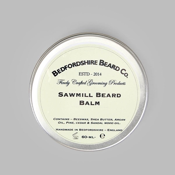 BEDFORDSHIRE BEARD CO. SAWMILL BEARD BALM