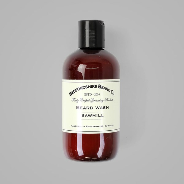 BEDFORDSHIRE BEARD CO. SAWMILL BEARD WASH 250ML