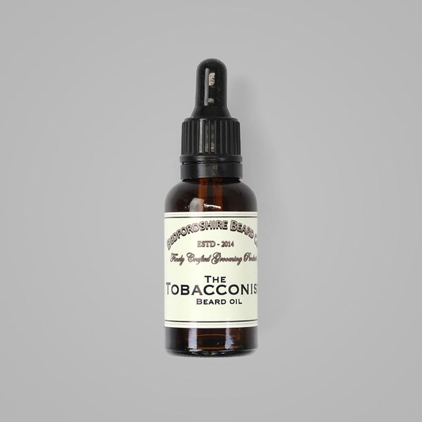 BEDFORDSHIRE BEARD CO. TOBACCONIST BEARD OIL