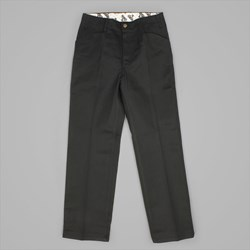 BEN DAVIS TRIM FIT TWILL WORK PANTS BLACK