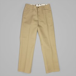 BEN DAVIS TRIM FIT TWILL WORK PANTS KHAKI