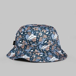 BENNY GOLD ALOHA ALL OVER BUCKET NAVY