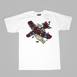 BENNY GOLD DAVE QUIGGLE ARTIST TEE WHITE