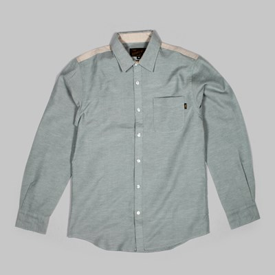 BENNY GOLD HYDE OXFORD LS SHIRT SAGE