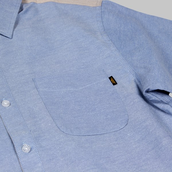 BENNY GOLD HYDE OXFORD LS SHIRT SKY