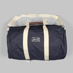 BENNY GOLD LARGE DENIM DUFFLE BAG